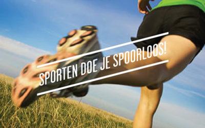 Brochure Sporten doe je spoorloos! Voor en door Vlaamse sportactoren