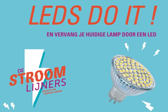 De Stroomlijners: LED-actie op 24 september in Limburg