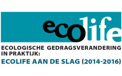 In de etalage: Ecologische gedragsverandering in praktijk